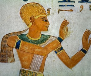 Painting of King Ramesses III from the Tomb of Khaemwaset